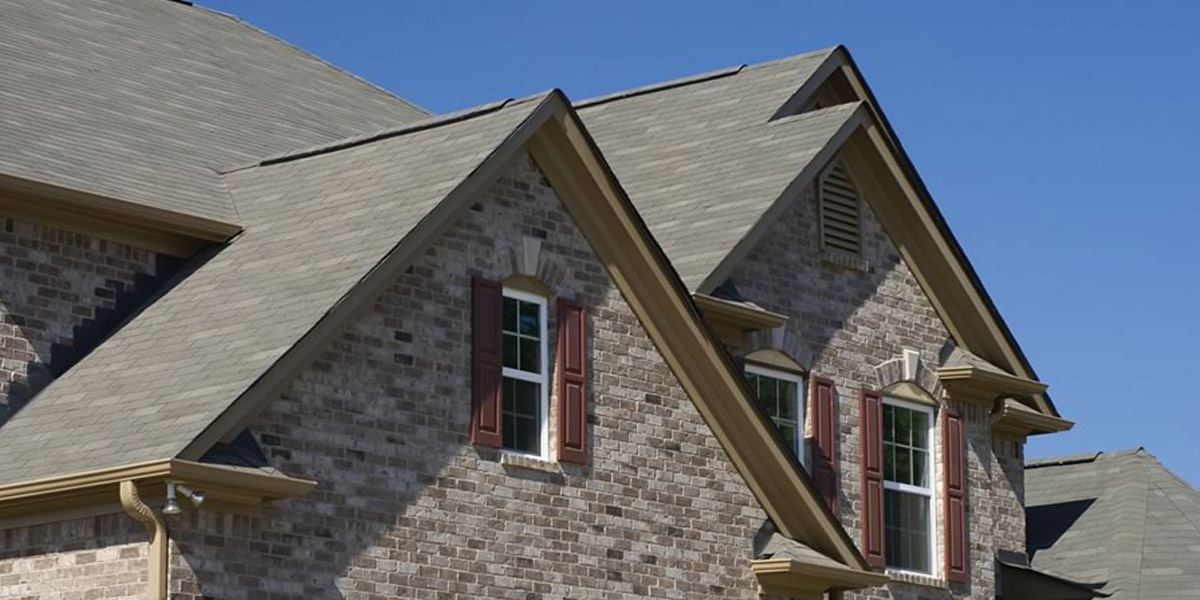 Light colored roof shingles means a cooler house