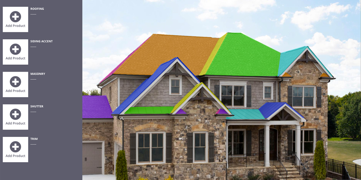 roofspiration atlas shingle visualizer color selector