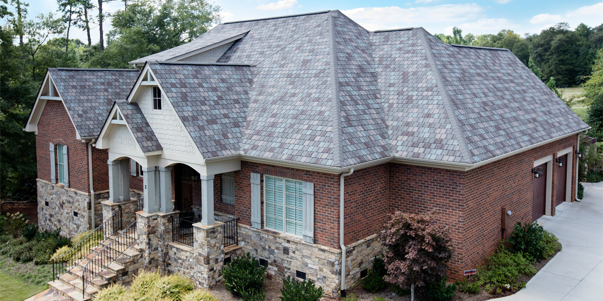 Class 4 Impact resistant shingles on home