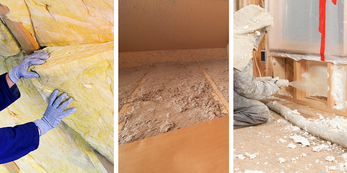 Types of Attic Insulation