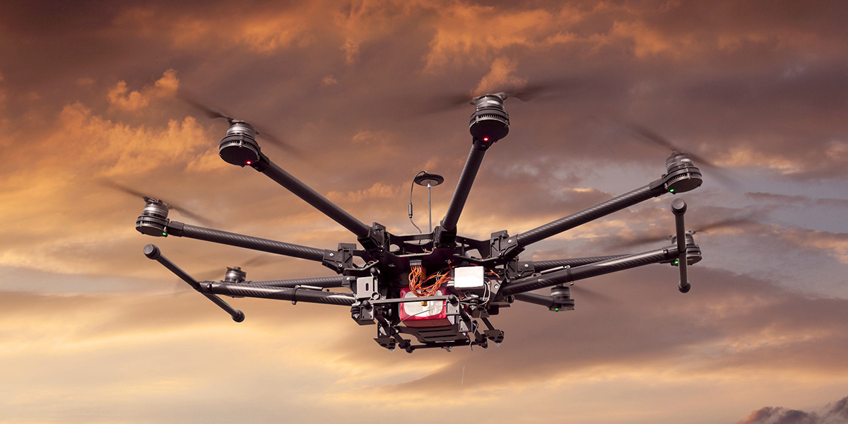 Proper use of unmanned drones