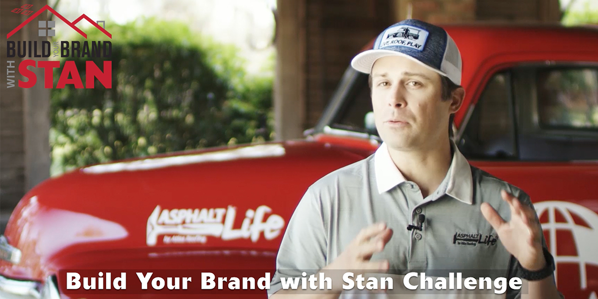 Build Your Brand With Stan Challenge