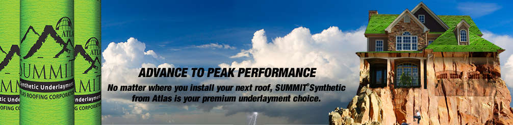 Summit Synthetic Roof Underlayment