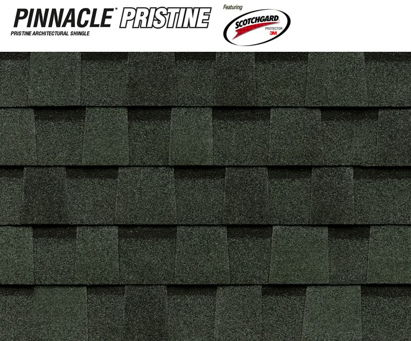 Dimensional Shingles To Pinnacle Pristine Featuring Scotchgard Protector Green Dimensional Shingles Atlas Roofing