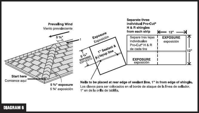 Roofing Installation Guide : Asphalt shingle installation guide pictures to pin on