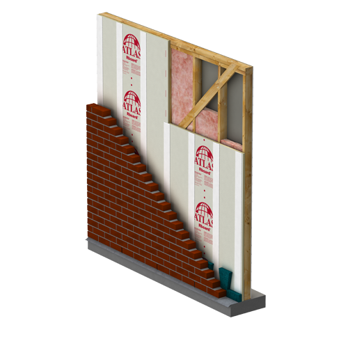 Wall Continuous Insulation Atlas Roofing
