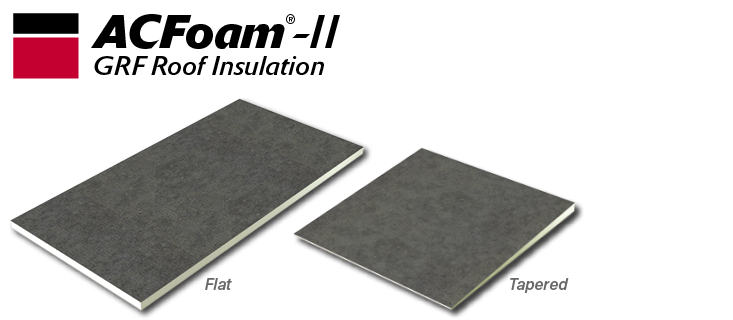 ACFoam-II Polyiso Roof Insulation