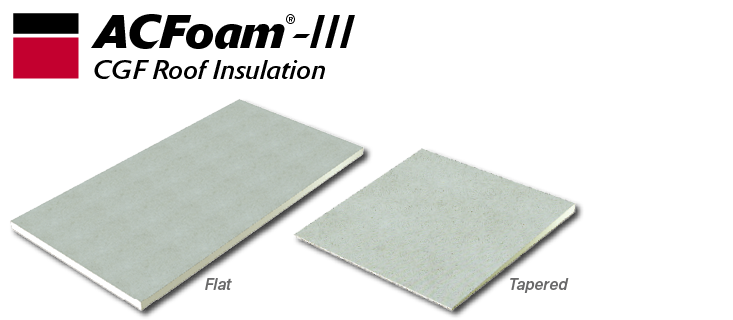 ACFoam-III Polyiso Roof Insulation