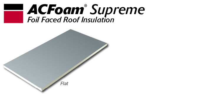 ACFoam Supreme Polyiso Roof Insulation