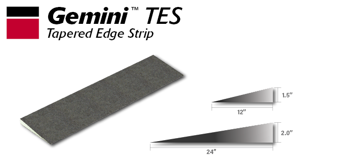 Gemini Tapered Edge Strip