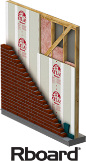 Rboard Rigid Foam Wall Insulation