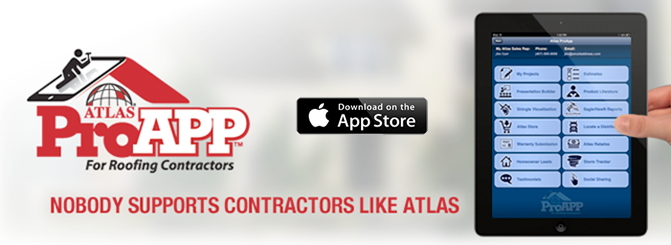 Atlas ProAPP for Roofing Contractors