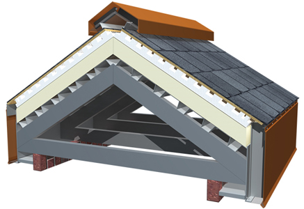 The Techni-Flo™ Engineered Roof Ventilation System meets the roof ventilation needs in steep-slope roofs.
