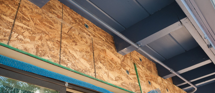 Osb roofing the advantages of osb for Roof decking thickness