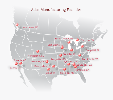 Manufacturing Facility Locations