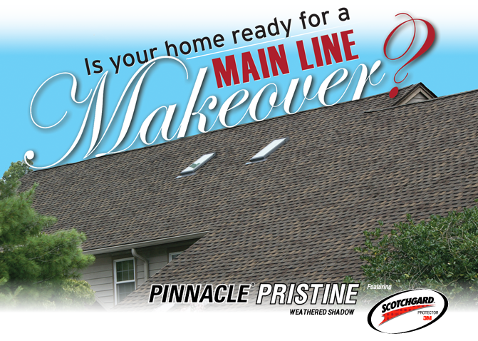 Main Line Makeover With Atlas Shingles Atlas Roofing