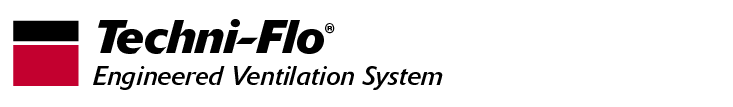 Techni-Flo Engineered Ventilation System Header Logo