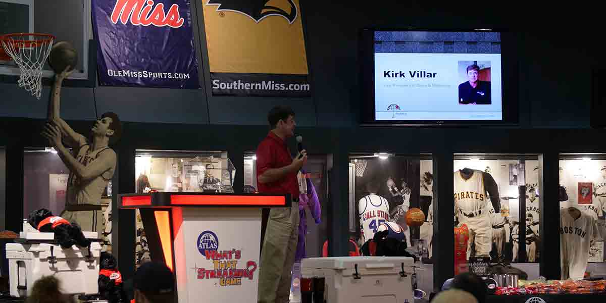 Kirk Villar at the Atlas Roadshow In Jackson