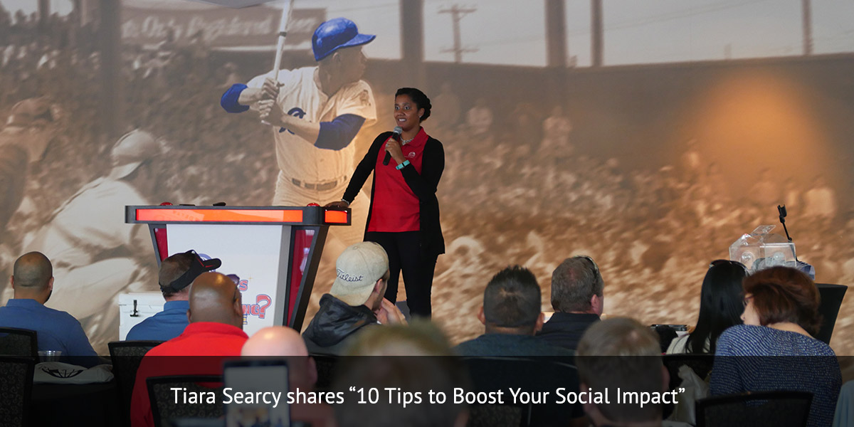 Tiara Searcy shares ?10 Tips to Boost Your Social Impact?