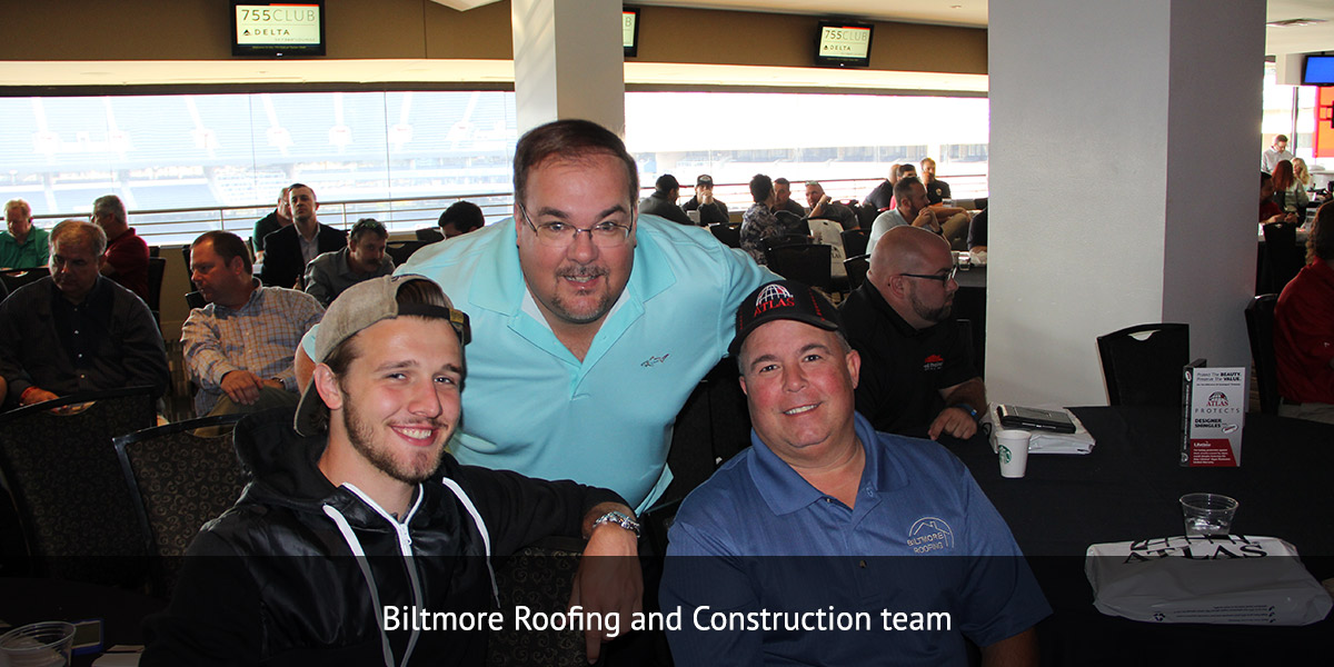 Biltmore Roofing and Construction team