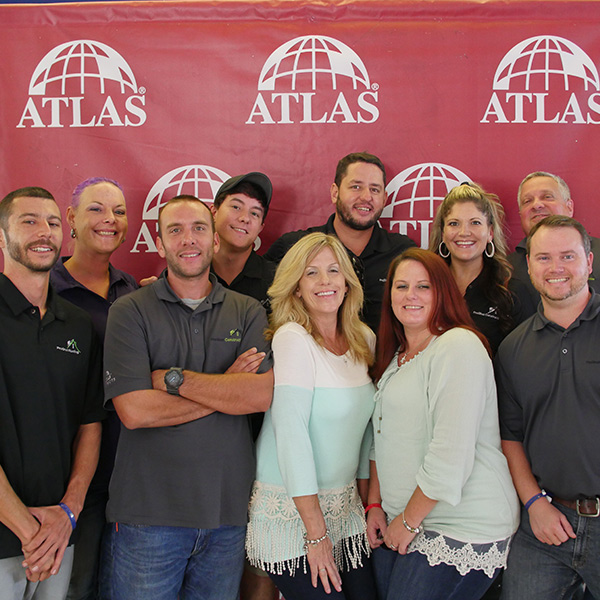 Attendees at the Atlas Roadshow