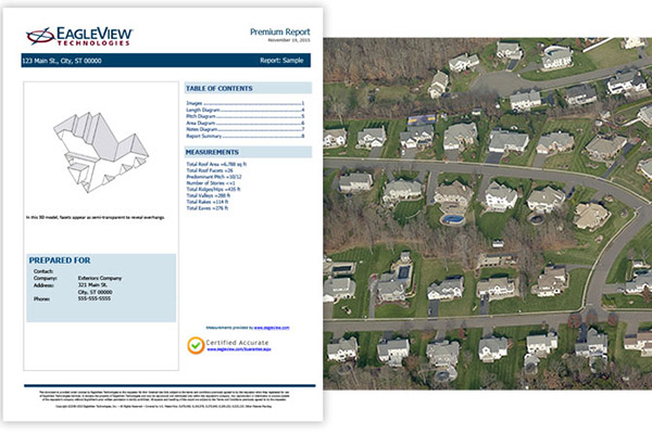 Sample EagleView Report