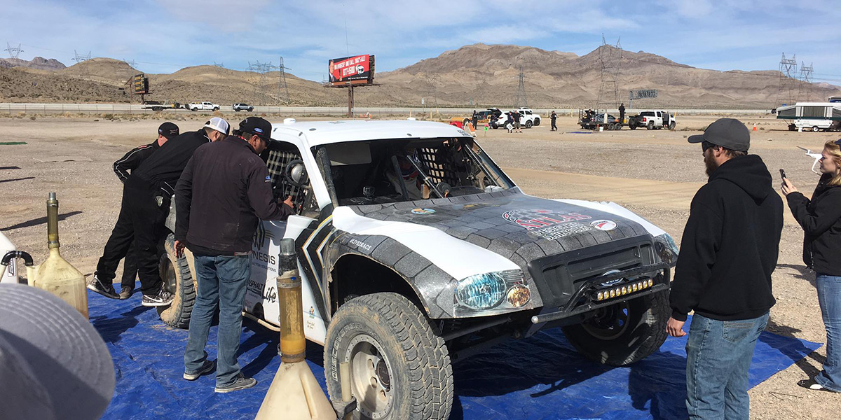 Ready for a run at the Mint 400