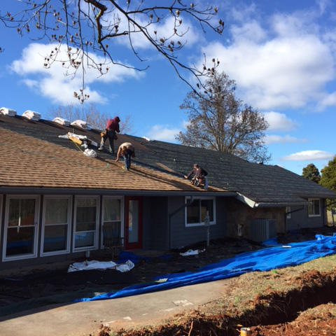 Christian Churches Disability Ministry - New Roof Going On