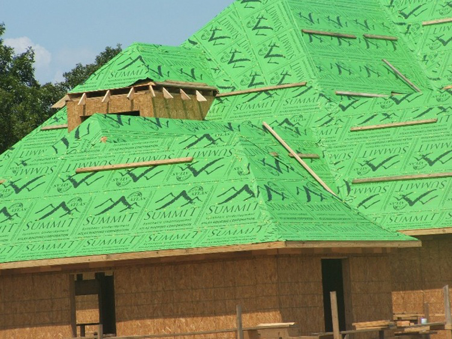 Summit Synthetic Underlayment Atlas Roofing