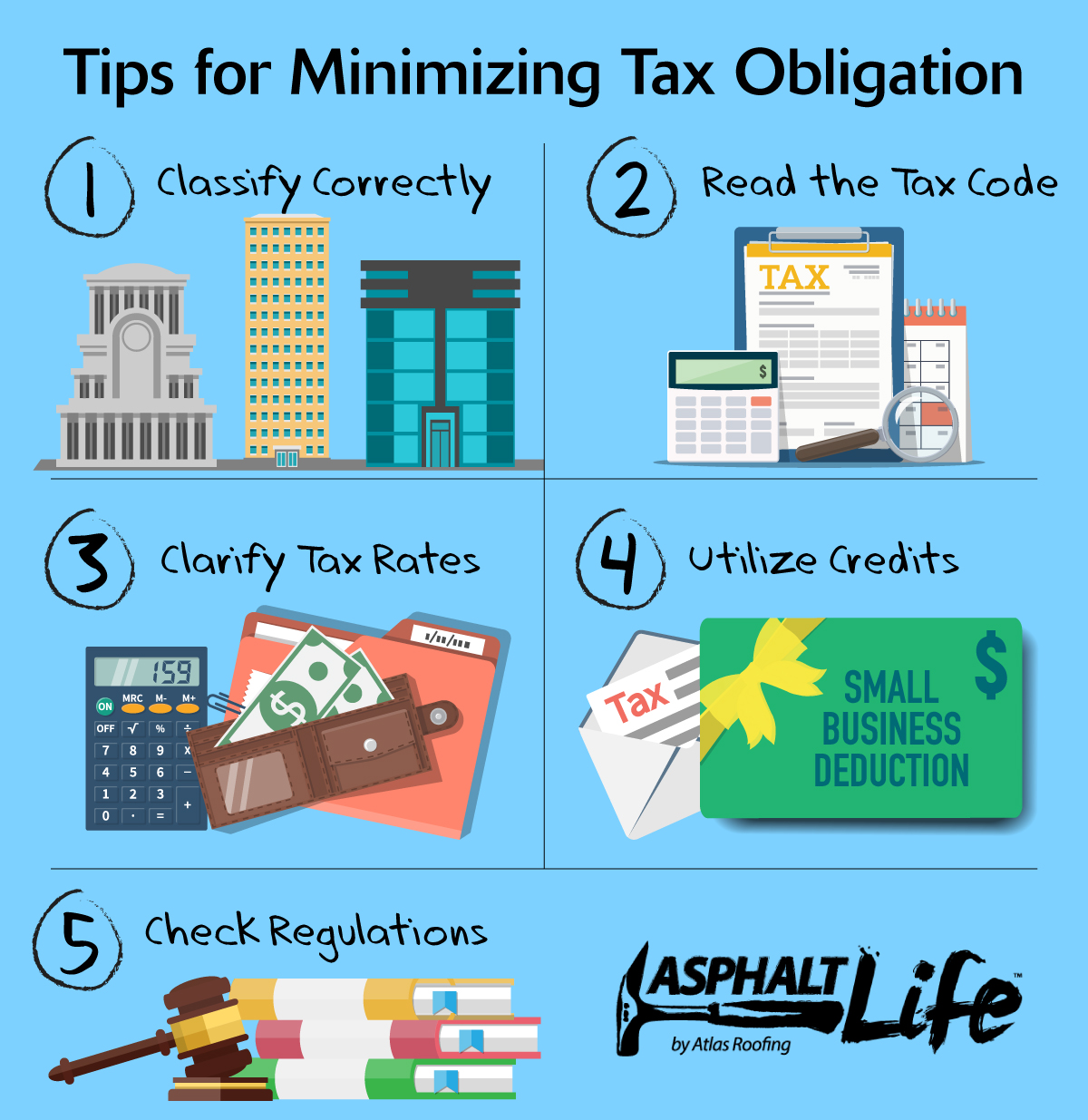 Tips to Minimize Taxes