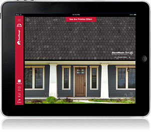 Select Your Roof App - Shingle Visualizer
