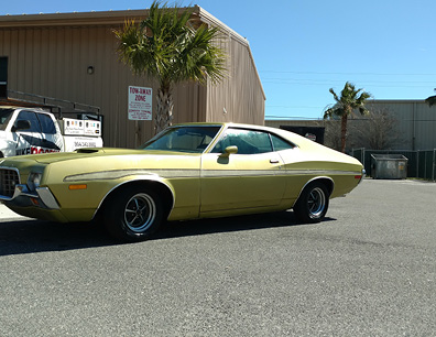 Mike Boucher 72 Gran Torino Driver Side