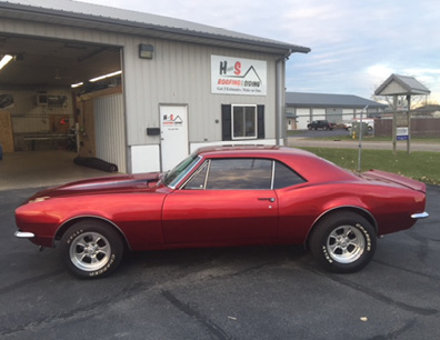 Paul Saharsky 67 Camero Driver Side
