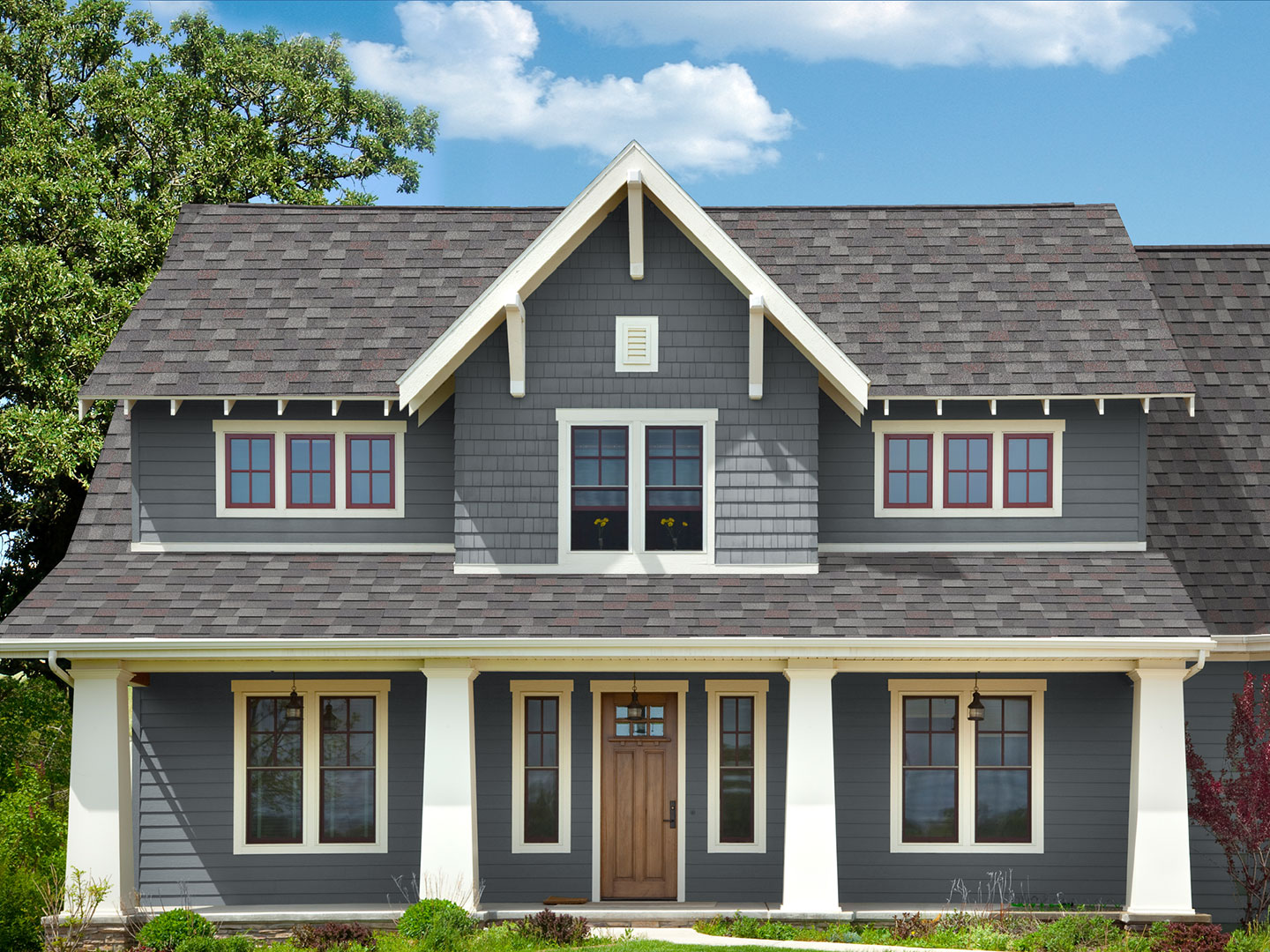 Exterior Paint Colors With Tan Roof Home Design