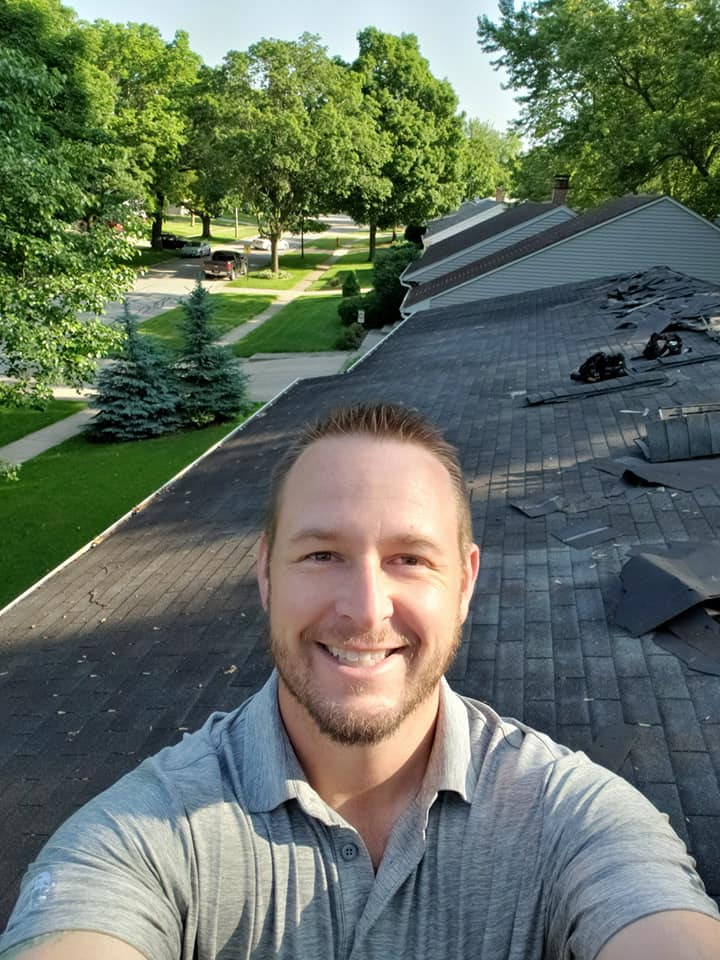 G. Klemm Roofing - on the roof
