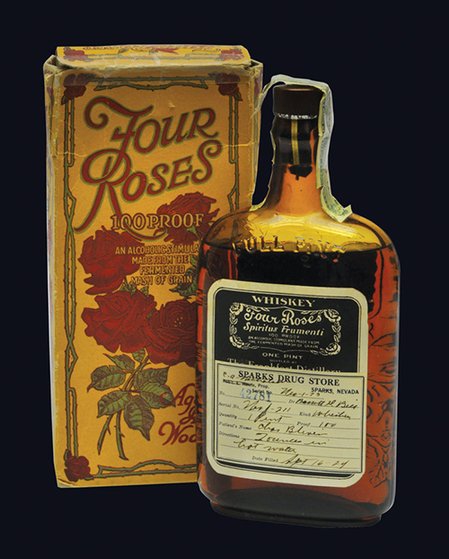 Four Roses label