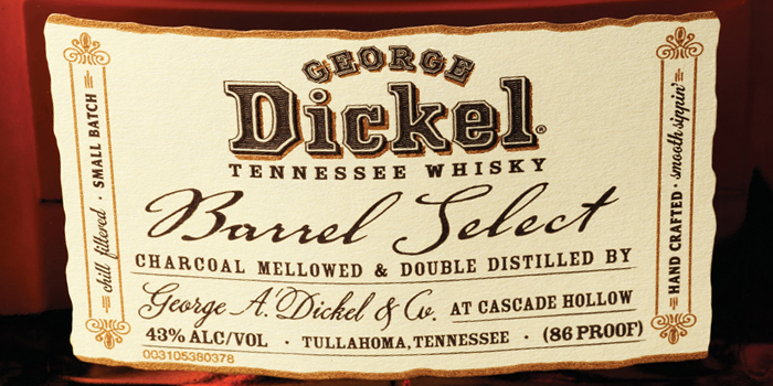 Dickel label