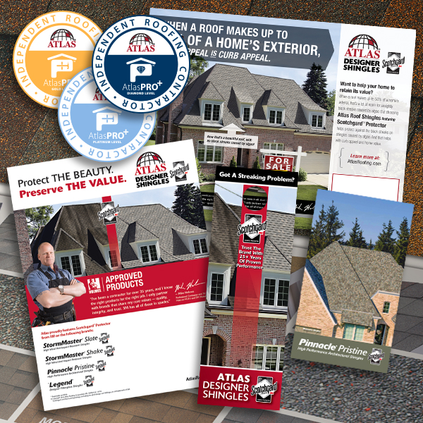 Marketing materials available in the AtlasPRO Shop