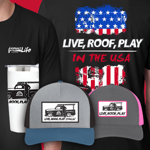 Apparel items available in the AtlasPRO Shop