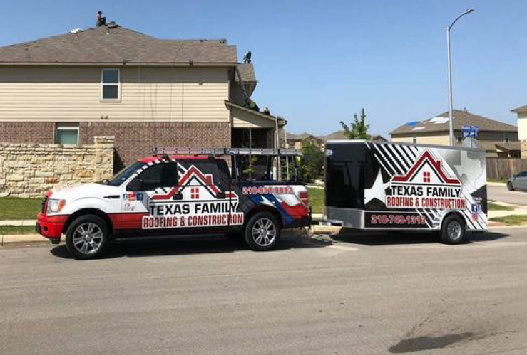 Paul Perez's Wrapped 2014 Ford F-150 with matching trailer