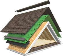 Select the components of your Atlas Signature Select Roofing System