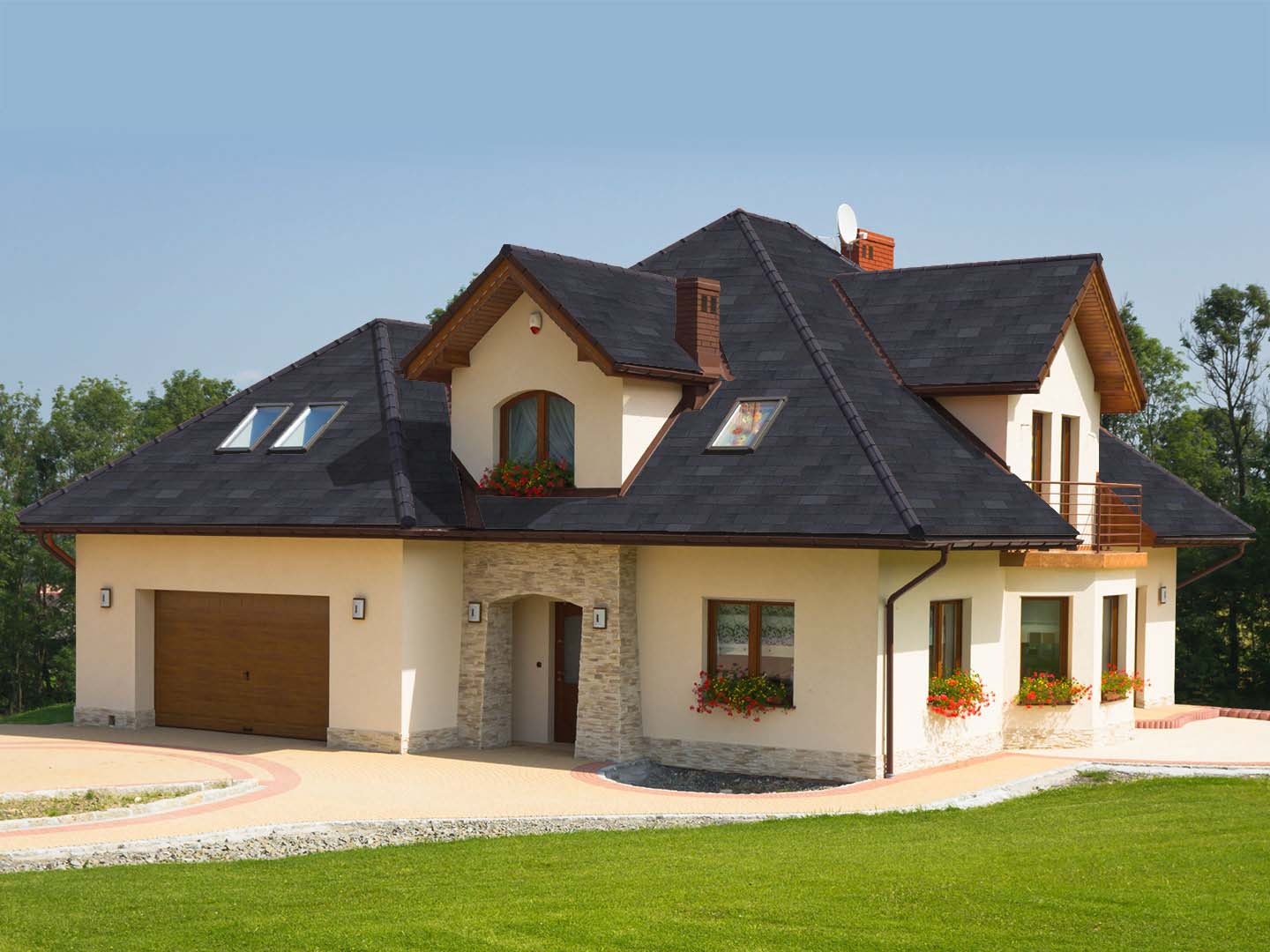 Glassmaster shingles atlas roofing for House and roof colors
