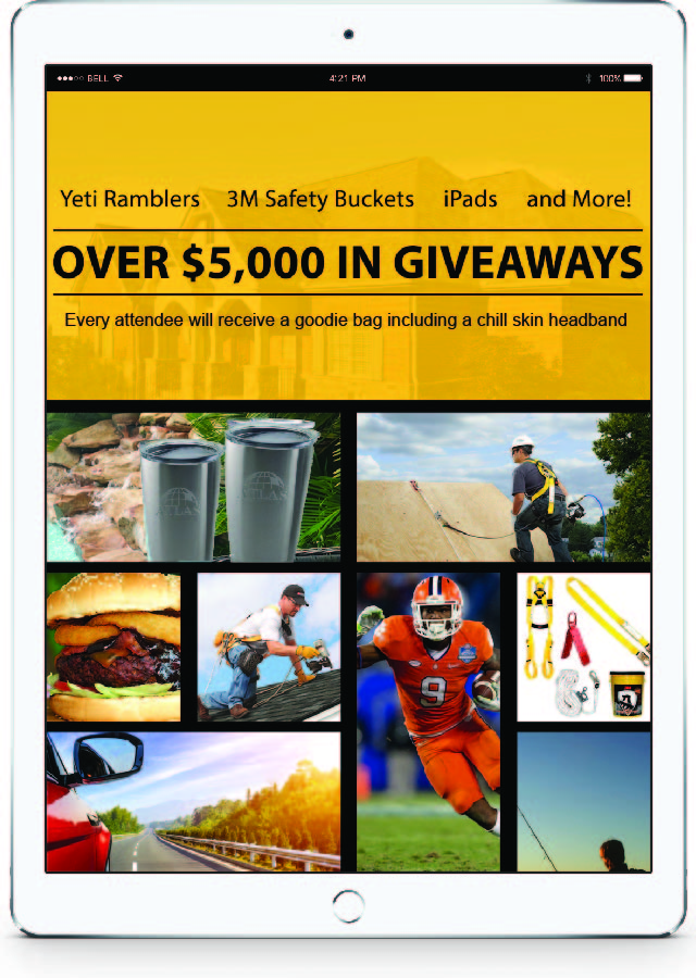 iPads, Yeti Ramblers, 3M Safety Buckets and More!